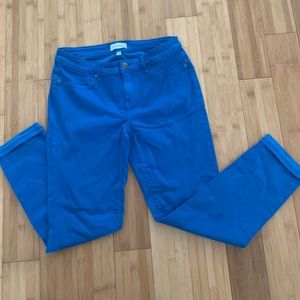 LILA RYAN Pants & Jumpsuits - Blue Skinny jeans